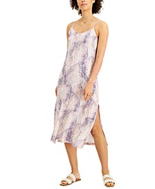 Printed Cami Slip Dress, Created for Macy's
