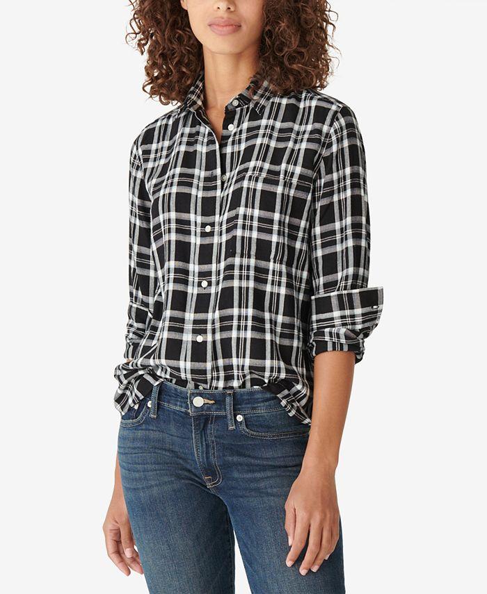 Lucky Brand - Cotton Plaid Flannel Shirt