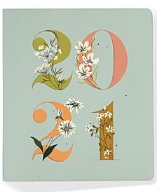 Studio 2021 Hardcover Floral Weekly Planner