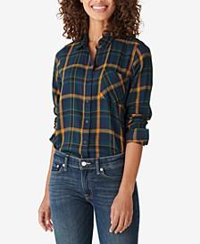 Classic Plaid Flannel Shirt