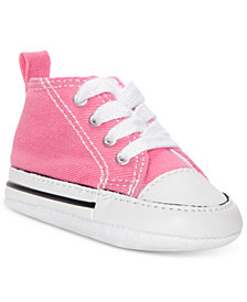 Converse Girls' Chuck Taylor First Star Casual Sneakers from Finish Line
