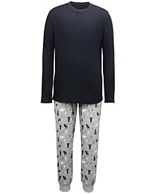 Matching Men's Woodland-Print Family Pajama Set, Created for Macy's