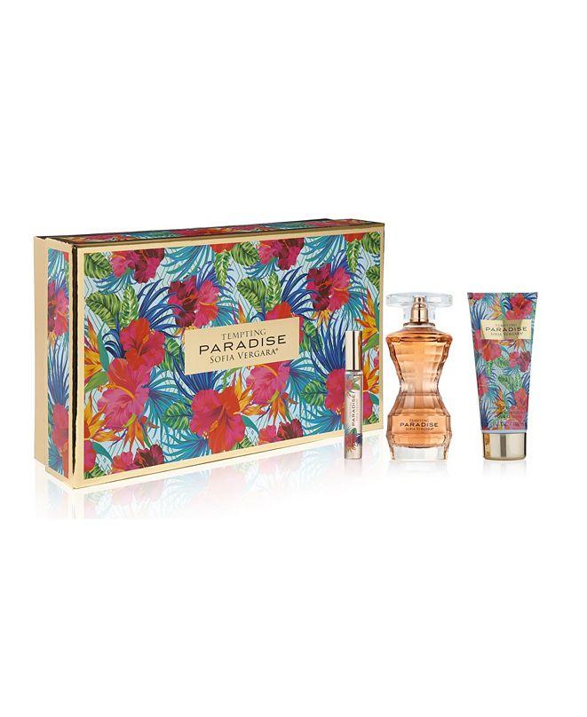 Sofia Vergara Tempting Paradise 3 Piece Women's Perfume Gift Set