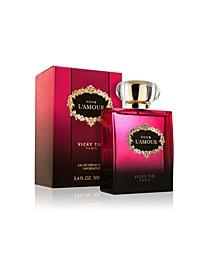 Women's Pour Lamour Eau De Parfum, 3.4 Oz / 100 ml