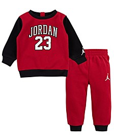 Baby Boys French Terry Sweatshirt and Joggers Set