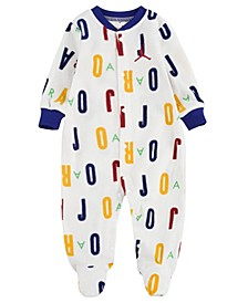 Baby Boys Printed Coveralls