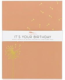 Delightful Journal - It's Your Birthday