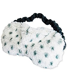 Snowy Microwavable Scented Eye Mask