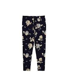 Big Girls All Over Large Floral Print Legging