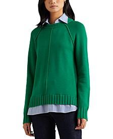 Petite Layered Sweater