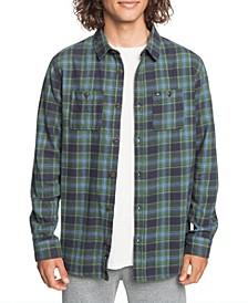 Men's Shadow Sets Flannel Long Sleeve Shirt