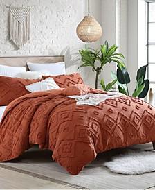 Astonishing Rukai Clip Jacquard Gauze 5 Piece Comforter Set Collection