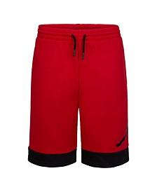 Big Boys Fleece Logo Shorts