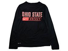 Ohio State Buckeyes Youth Core Hockey Long Sleeve T-Shirt