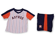 Infant Houston Astros Lineup Short Set