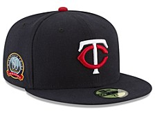 Minnesota Twins 2020 Anniversary Patch 59FIFTY Cap