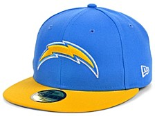 Los Angeles Chargers Team Basic 59FIFTY Cap