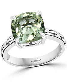 EFFY® Green Quartz Statement Ring (3-7/8 ct. t.w.) in Sterling Silver