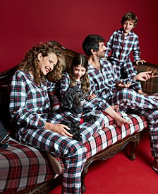 Matching  Mix It Tartan Family Pajama Set Collection, Created for Macy's