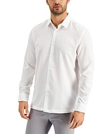 Men's Micro Texture Shirt, Created for Macy's