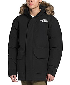 Men's McMurdo Down Parka with Removable Faux-Fur Trim