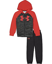 Little Boys Abe Twist Hoodie and Pant Set