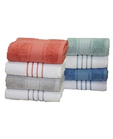 Egyptian Cotton Mix & Match Bath Towel Collection, Created for Macy's