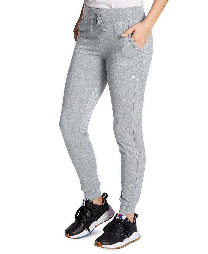 Women's Cotton Jersey Full Length Joggers