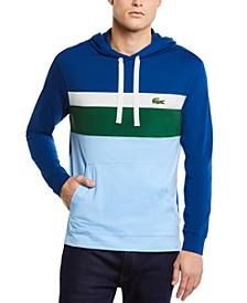 Men's Long Sleeve Colorblock Jersey Hoodie