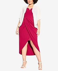 Women's Trendy Plus Size Multiway Shrug