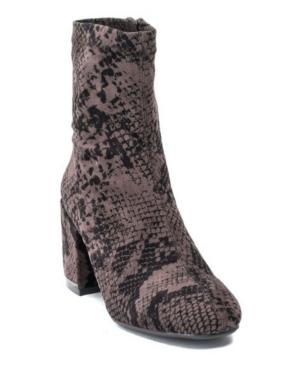 Women's Penny Heeled Boot Women's Shoes