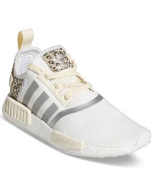 Adidas Originals ADIDAS WOMEN'S NMD R1 ANIMAL PRINT CASUAL SNEAKERS FROM FINISH LINE