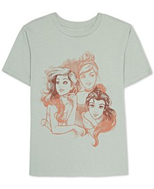 Juniors Princesses Graphic Print T-Shirt