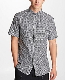Men's Basket Print Shirt
