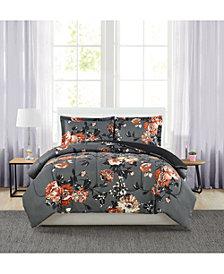 Manilla Floral Full/Queen 3-Pc. Comforter Set