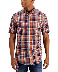 Men's Plaid Shirt, Created for Macy's