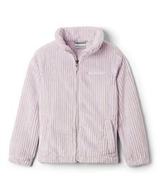 Big Girls Fire Side Sherpa Full Zip Jacket