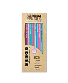 Aquarius Astrology Pencils
