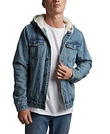 Men's Hooded Borg Jacket