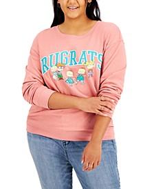Trendy Plus Size Rugrats-Graphic Sweatshirt