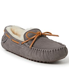 Fireside by Men's Victor Moccasin Lace Tie Slippers