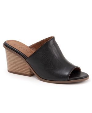 We would never play favorites, but Hanna, we love you. Channel some major 70\\\'s throwback chic and wear them with a jumpsuit or use this wide-heeled mule to add a little sass to your sweetest dresses.