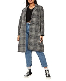 Trendy Plus Size Marty Mid Length Coat