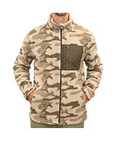 Men's Soft Sherpa Three Pocket Full Zip Jacket