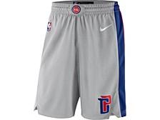 Men's Detroit Pistons Statement Swingman Shorts
