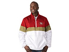 Men's San Francisco 49ers No Huddle Lightweight Anorak Jacket