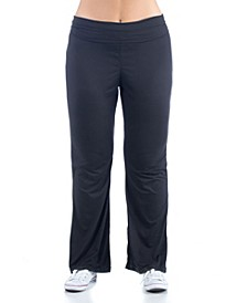 Women's Plus Size Foldover Waist Sweatpants