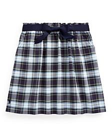 Big Girls Tartan Plaid Oxford Skirt