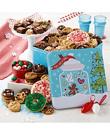 Peace, Love and Cookies Large Combo Tin