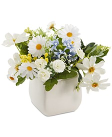 Artificial Daisy Centerpiece, Created for Macy's